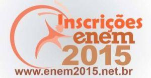 Enem 2015 - Inscrição