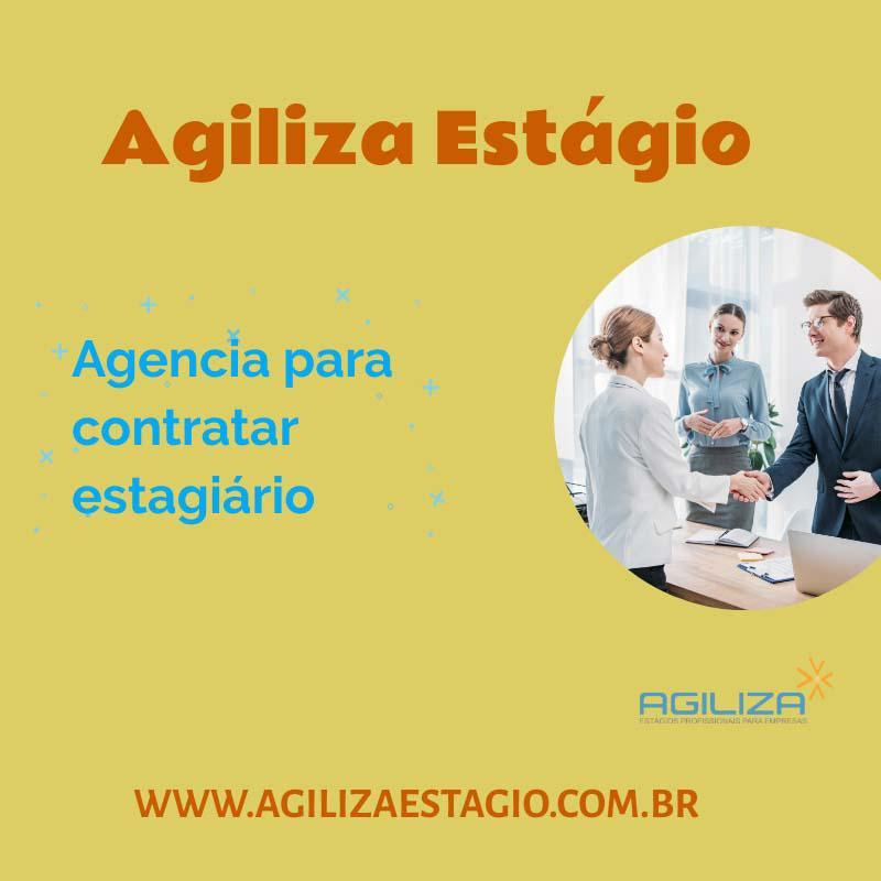 Agencia para contratar estagiário